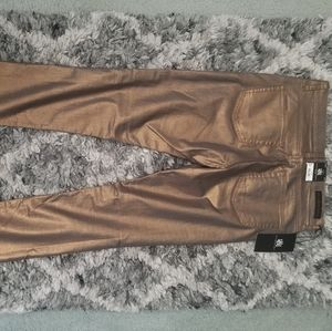 Rock & Republic Gold Skinny Jean's new with tags